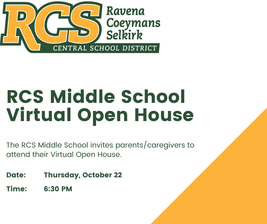 RCS Middle School Virtual Open House