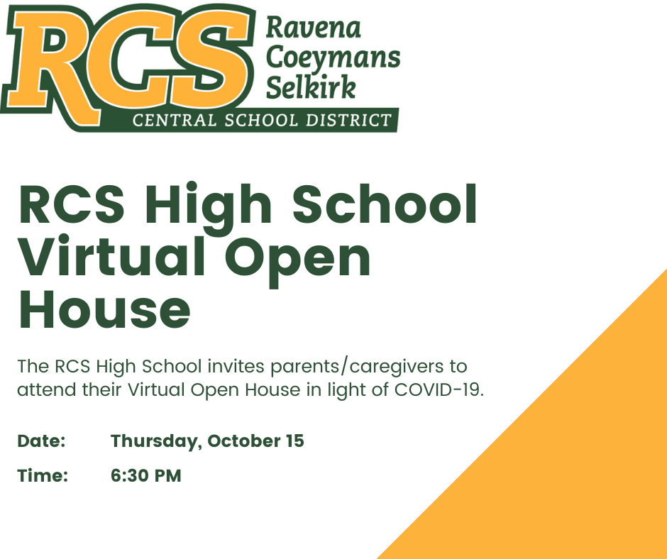 RCS High School - Virtual Open House