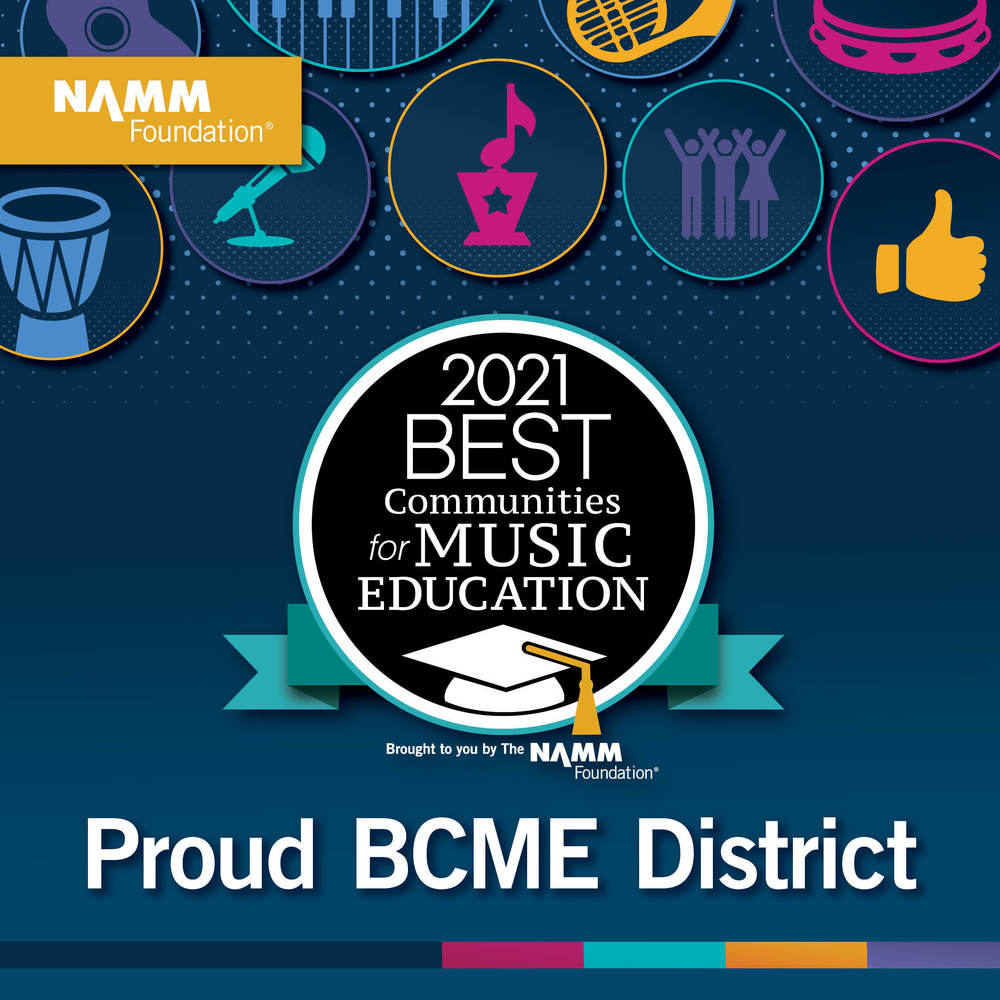 RCS District Music Department Receives National Recognition
