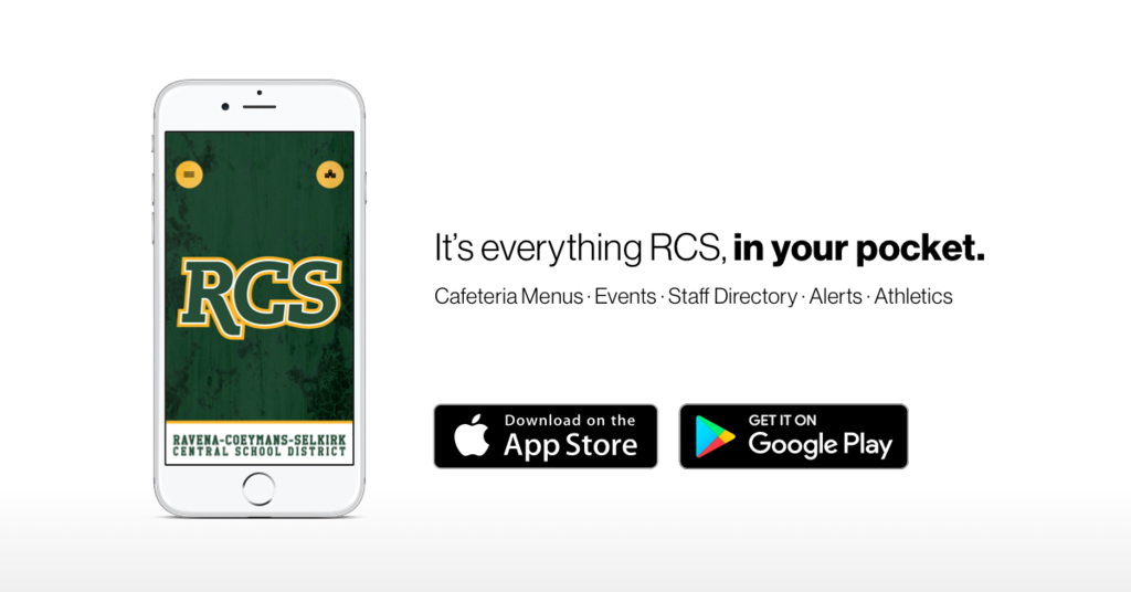 RCS Connects mobile app image.